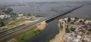 Henri Konan Bédié Bridge linking the north and south of Abidjan, Côte d'Ivoire. Photo: Bouygues Construction