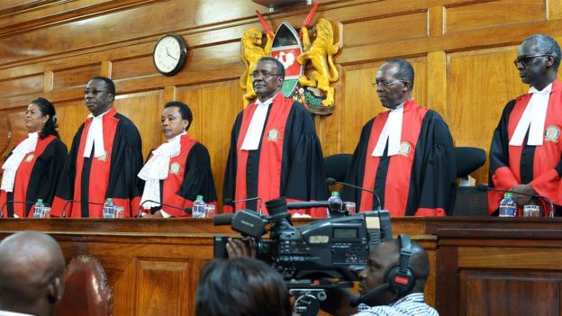 Four judges overruled two others, believing there was enough uncertainty to undermine the election result