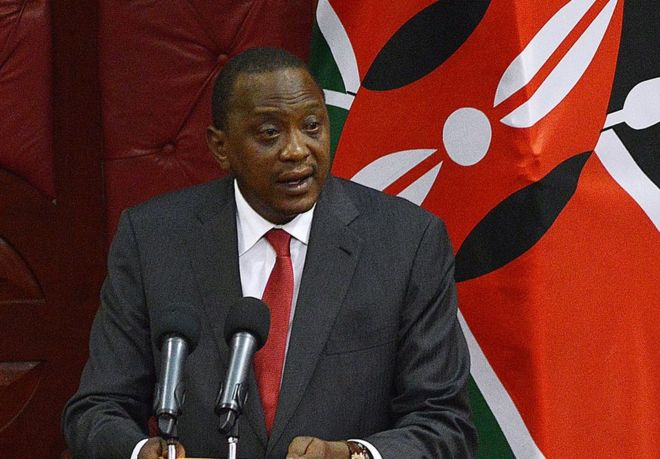 Mr Kenyatta had dared the opposition to skip the opening of parliament