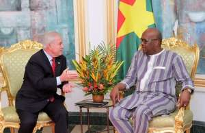 IGD''s Mima Nedelcovych in audience with Burkina Faso's President  Roch M. C. KABORE