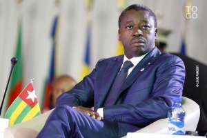 On thin ice, current President Faure Gnassingbe .The fifty year old griphis family has had on power is under serious threat