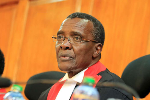 Kenya's Chief Justice David Maraga, and three of his colleagues, created history by annulling the August presidential election