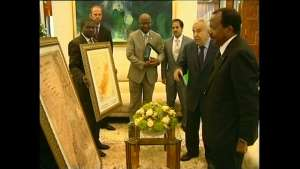History Lesson:The UN Presented President Biya with the two maps of La Republique du Cameroun and Southern Cameroons