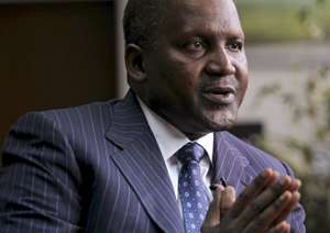 Founder and Chief Executive of Dangote Group Aliko Dangote