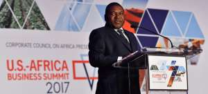 President Felipe Nyusi of Mozambique at the last US-Africa Business Forum, Mozambique has express strong interest to host the 2019 Summit