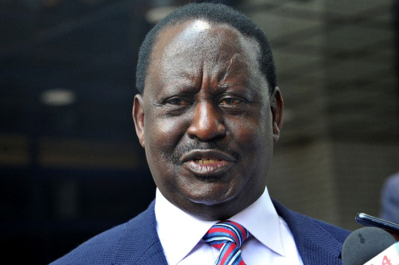 Odinga chose to boycott Thursday's elections, saying it would not be fair or credible. But the decision may well doom his hopes of becoming Kenya's leader (AFP Photo/SIMON MAINA)