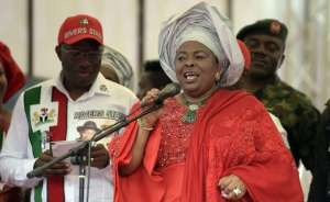 Mrs Jonathan says she is being persecuted because of her unflinching support for her husband in the 2015 presidential campaign