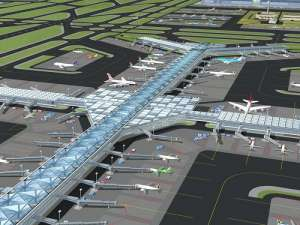 Artistic design impression of Bugesera International Airport