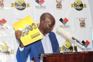 Munyaradzi Hwengwere at the mines suppliers book launch