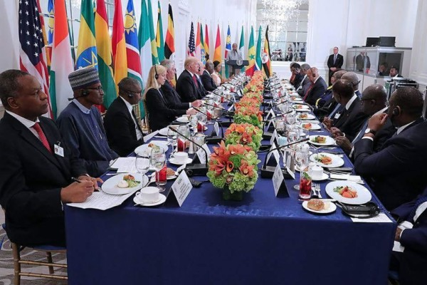 President Trump meeting with African Leaders in New York during the UN General Assembly,I do think that the Trump Administration will want to gauge very positively on the issue of our commercial relationship with the nations of Africa says Forie Liser