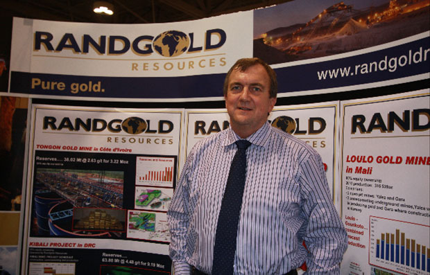Dr. Mark Bristow, founder and Chief Executive Officer of Randgold Resources