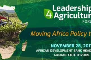 African High-Level Officials, Private Sector Leaders to Chart Actionable Plan to Accelerate the Africa's Agricultural Transformation