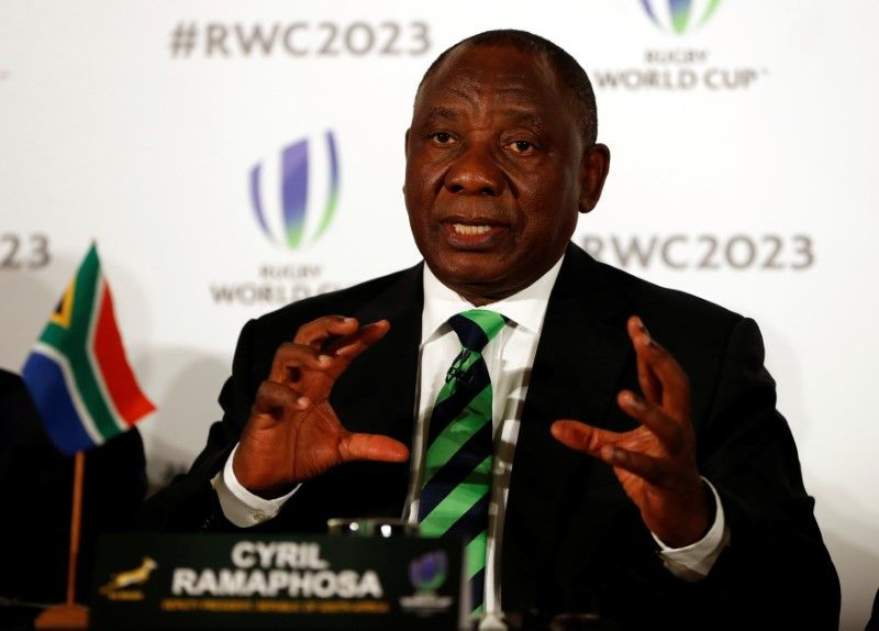 South Africa's Ramaphosa Leads in Nominations for ANC Leader: Poll