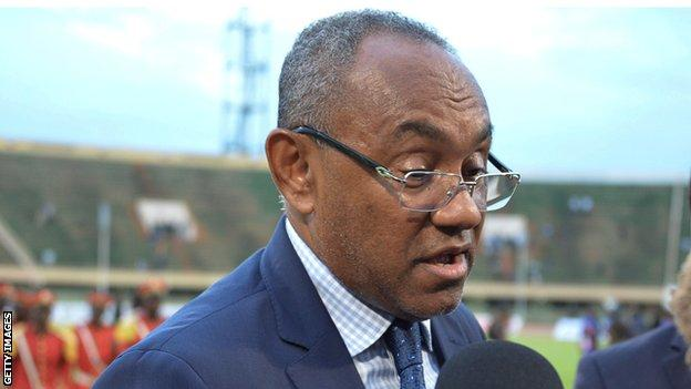 Ahmad says Caf has no intention of stripping Guinea of the rights to host the 2023 Africa Cup of Nations but warned them to respect the deadlines set for preparations