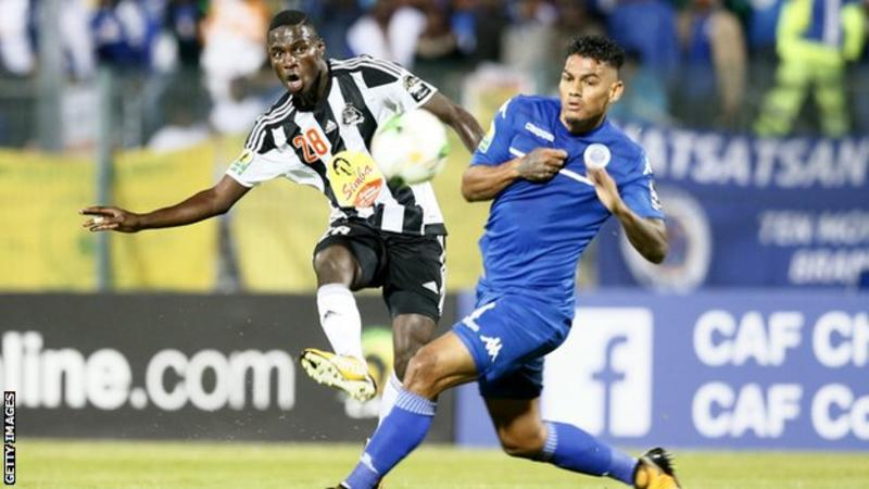 TP Mazembe got the draw they needed at SuperSport United as they successfully defended the African Confederation Cup