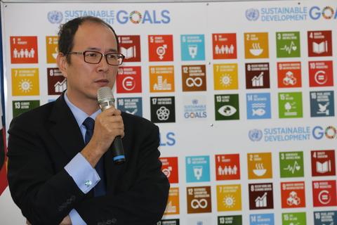UNFPA Deputy Representative Mr Yu Yu