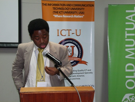With ICTs Africa can bridge the development gap with the rest of the world says Prof Victor Mbarika
