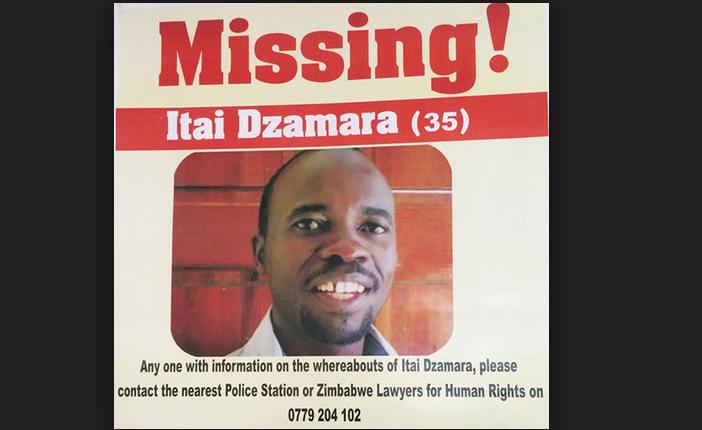 Missing activist Itai Dzamara