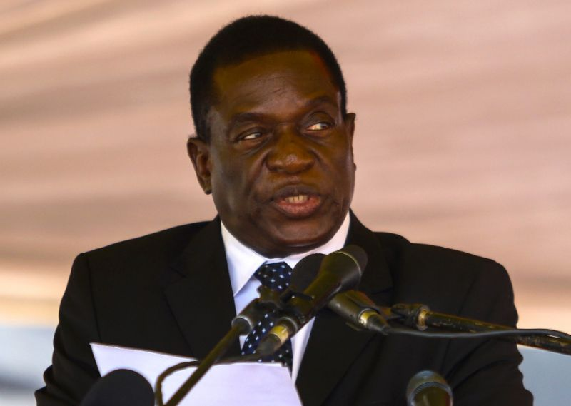 "Sacked Zimbabwe vice president Emmerson Mnangagwa said the ruling ZANU-PF party is ""controlled by undisciplined, egotistical and self-serving minnows"" (AFP Photo/Jekesai NJIKIZANA)"