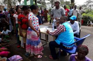 Cameroonian refugees arriving in Cross River State