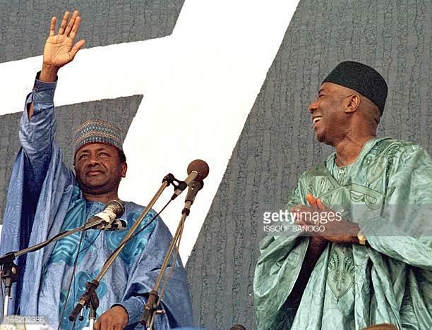 former Nigerian leader Sani Abacha