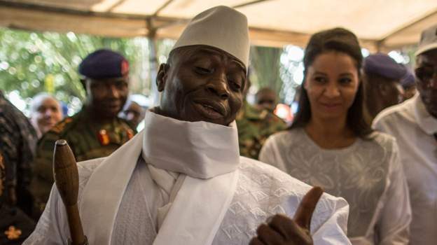 Former President Jammeh is now based in Equatorial Guinea