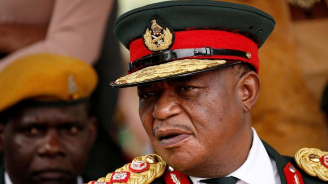 Mr Chiwenga retired as head of the armed forces this week