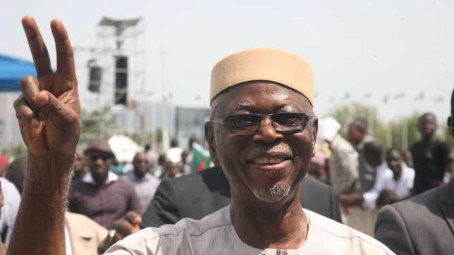 Ruling APC Chairman Chief John Oyegun