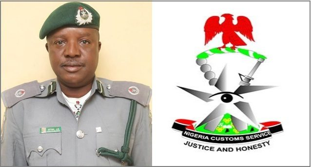 Mr Joseph Attah, Acting Public Relations Officer, Nigerian Customs Service.