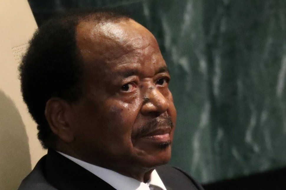 FILE PHOTO: President Paul Biya of Cameroon waits to address the 71st United Nations General Assembly in Manhattan, New York, U.S. September 22, 2016. REUTERS/Carlo Allegri/File Photo Reuters