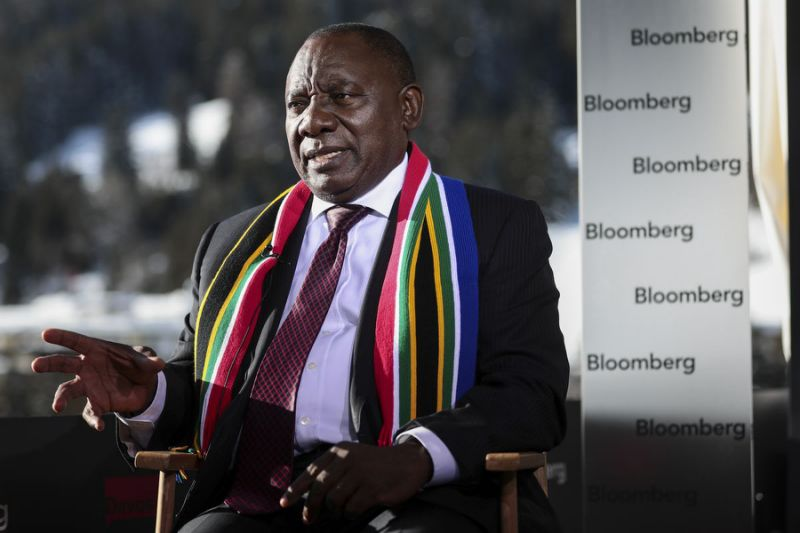 Ramaphosa Sees Progress in South Africa's 'Mammoth' Corruption Fight