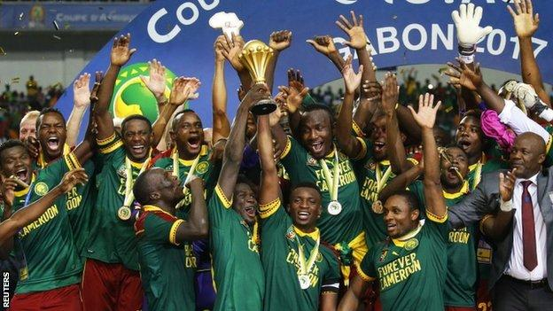 Cameroon are the reigning African champions, having triumphed in Gabon last year