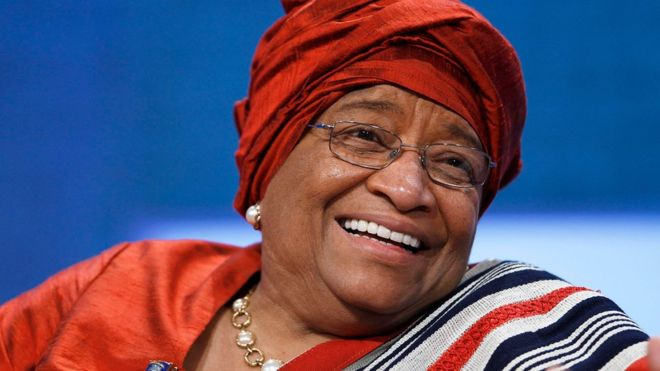 Ellen Johnson Sirleaf made history as Africa's first elected female president