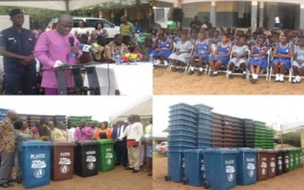 Ensuring a filth-free City remains one of the priorities of Hon Adjei Sowah