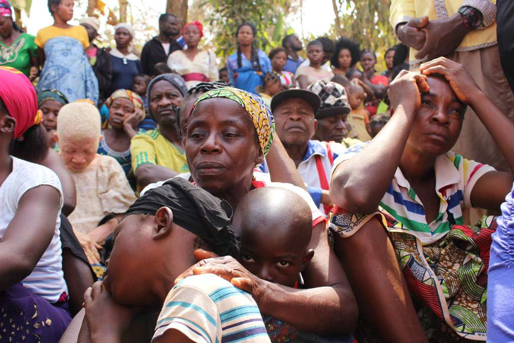 Cameroonian families seek refuge in Utanga, Obanliku, Nigeria, after fleeing insecurity in English-speaking parts of their homeland. Photo: UNHCR/Elizabeth Mpimbaza