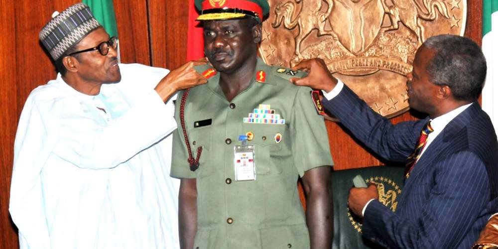 Buratai: What A Time To Be Proud Of Nigeria