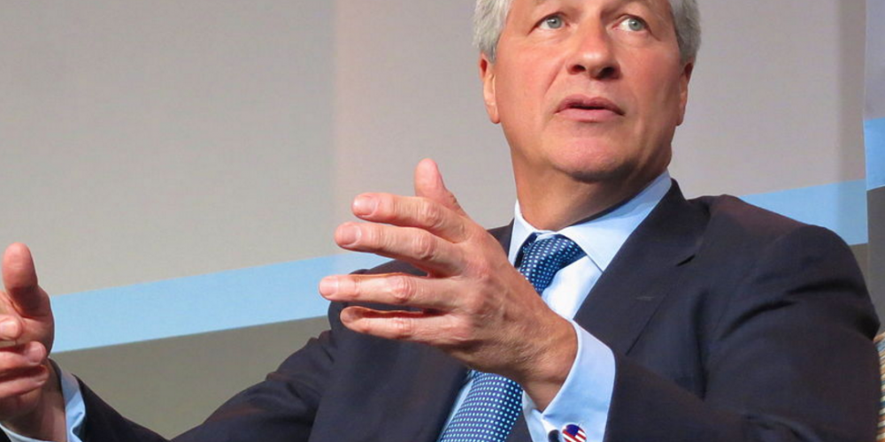 Jamie Dimon, CEO of JPMorgan Chase ...