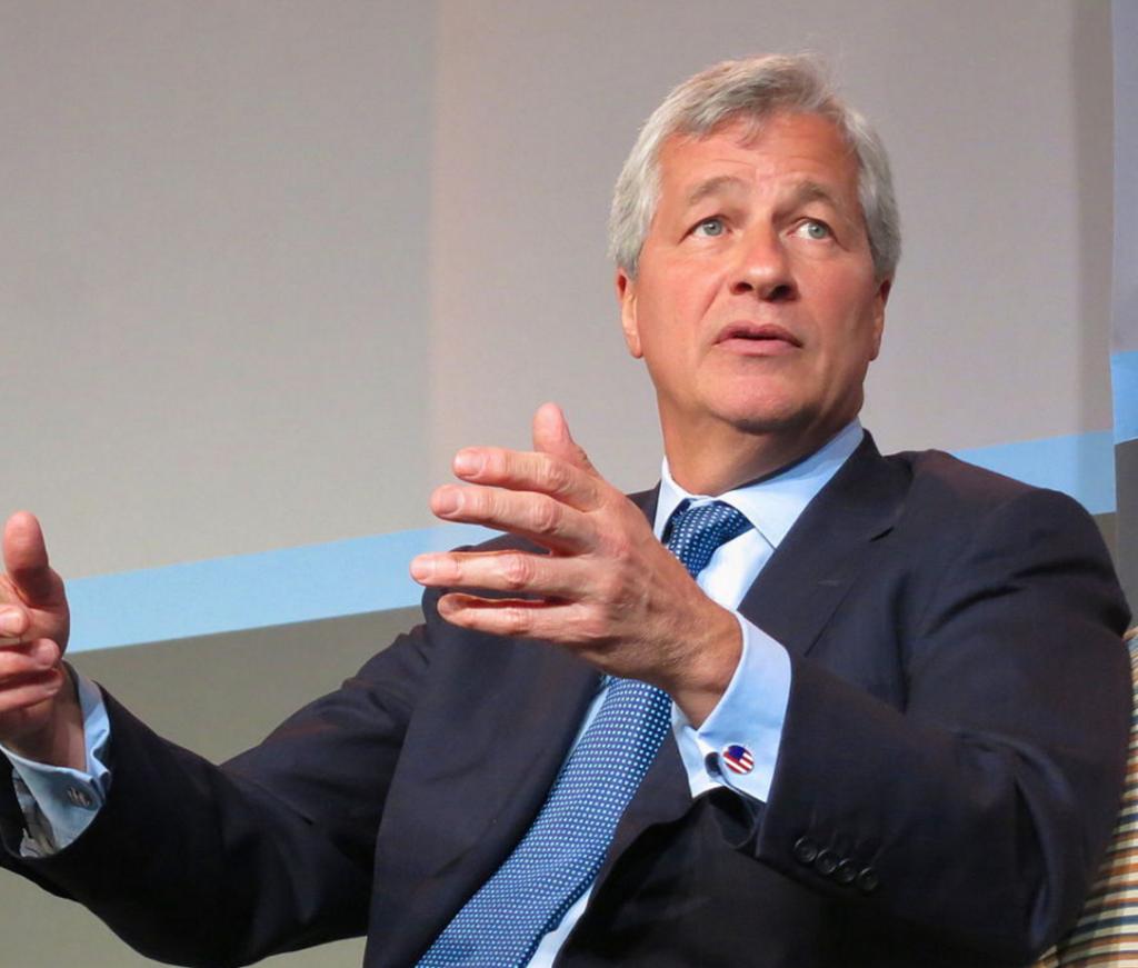 Jamie Dimon, CEO of JPMorgan Chase ...
