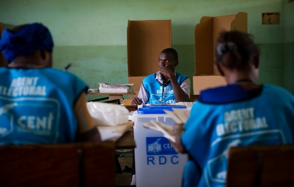 DRC gets high-tech voting machines for long-delayed polls