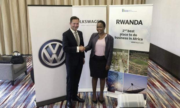 Volkswagen opens new plant in Rwanda