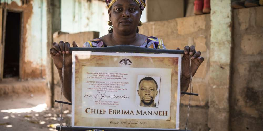 The family of murdered journalist Ebrima Manneh are still looking for answers