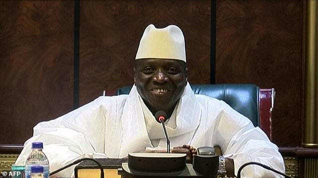 Yahya Jammeh fled to Equatorial Guinea after being forced out of power last year