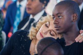 US pop star Madonna and her son David have regularly visited Malawi, the country of her adoptive children