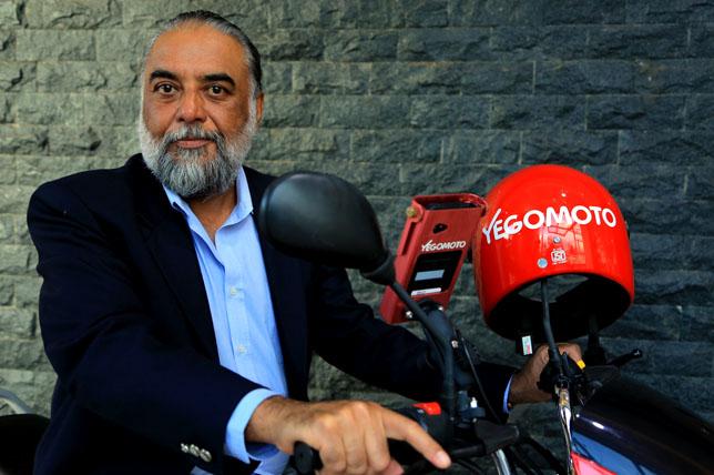 Yego Innovision's CEO Karanvir Singh.