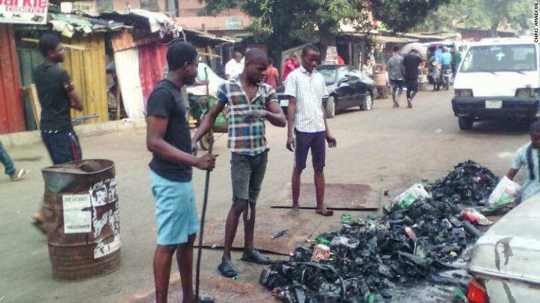 Anaekwe hopes to increase people's awarenesss about the dangers of trash.