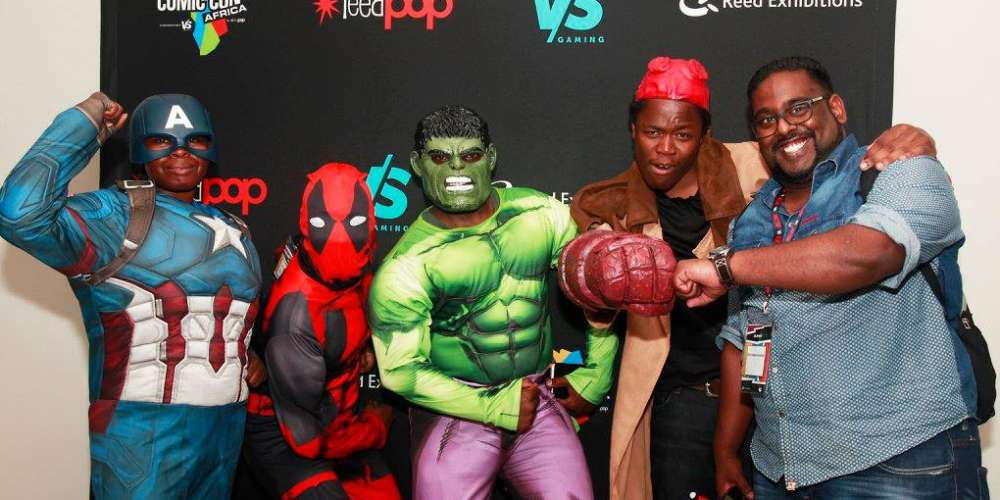 COMIC CON COMES TO AFRICA