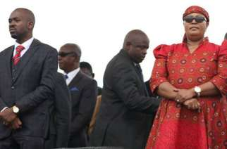 Tension was visible. Nelson Chamisa was flanked by Eng Mudzuri and Dr Khupe.