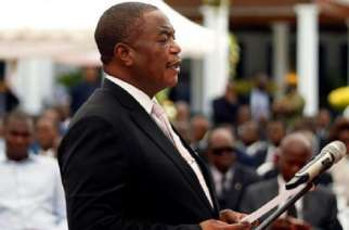 Vice President Retired General Constantino Chiwenga