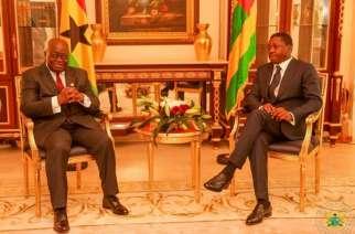 President Akufo Addo resumes mediation talks in Togo