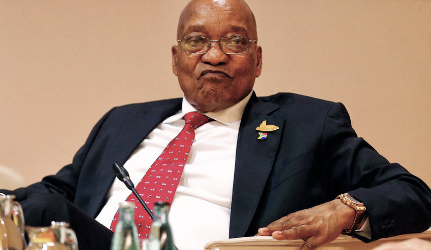 Zuma becomes the second President after his predecessor Thabo Mbeki to leave office before the expiration of his term